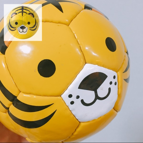 Amazon | sfida(スフィーダ) 動物 ミニボール フットボール ズー FOOTBALL ZOO BSF-ZOO06 トラ サッカー 1号球 | SFIDA(スフィーダ) | サッカーボール