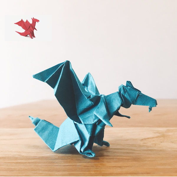 YouTube Origami Dragon (Jo Nakashima)