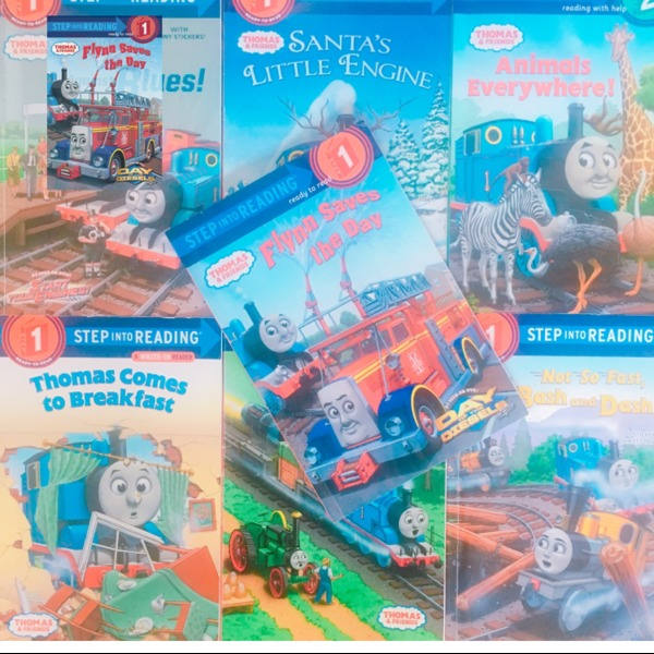 Amazon | Flynn Saves the Day (Thomas & Friends) (Step into Reading) | Rev. W. Awdry, Richard Courtney | Children's Books