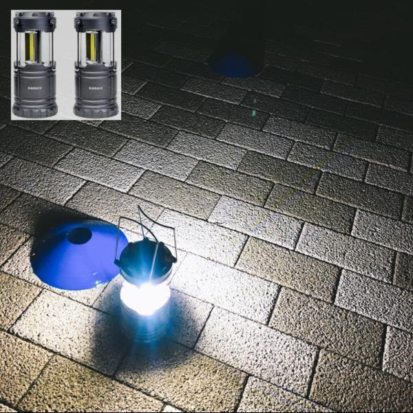 Amazon | Raniaco LEDランタン 2個セット | Raniaco | 充電式ライト・ラジオ
