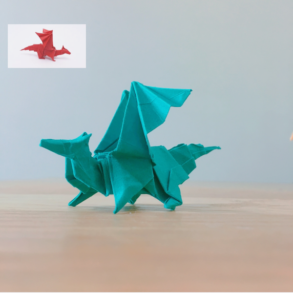 YouTube ORIGAMI DRAGON v2 (Jo Nakashima)