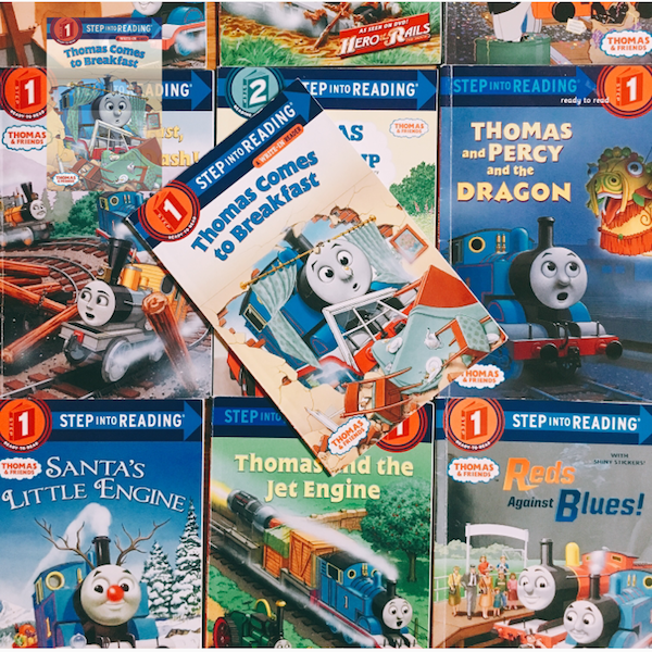 Amazon | Thomas Comes to Breakfast (Thomas & Friends) (Step into Reading) | Rev. W. Awdry, Richard Courtney | Emotions & Feelings