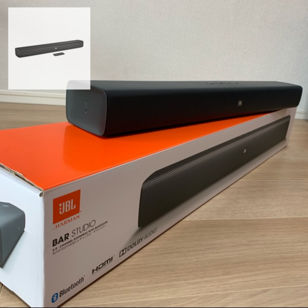 Amazon | JBL Bar Studio 2.0chホームシアターシステムBluetooth/HDMI/ARC対応 ブラック JBLBARSBLKJN 【国内正規品/メーカー1年保証付き】 | フロントサラウンドシステム 通販
