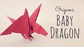 YouTube Origami Baby Dragon Tutorial (Tadashi Mori)