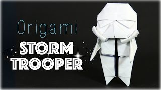 YouTube How to make an origami Stormtrooper (Star Wars)