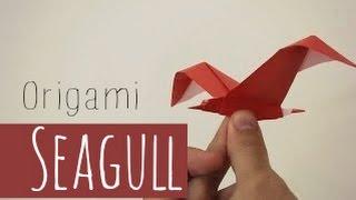 YouTube Origami Seagull (Riccardo Foschi)