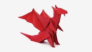 YouTube Origami Dragon (Jo Nakashima)