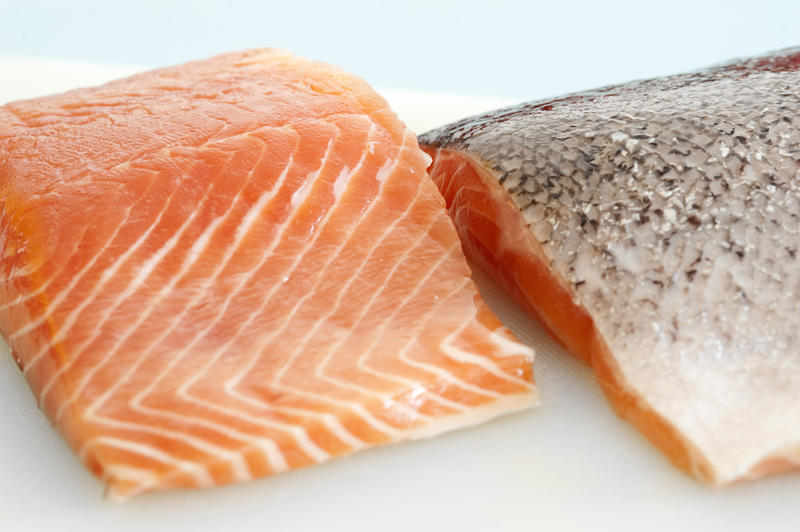 cuts of salmon