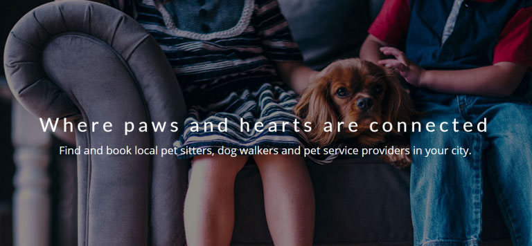 Find and book local pet sitters, dog walkers and pet care providers in your city