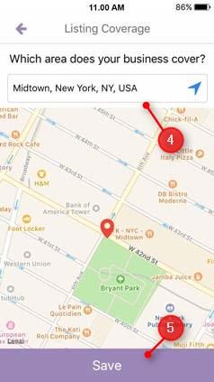 change listing address 4