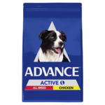Advance Advance Adult Active Dry Dog Food Chicken 17kg