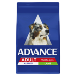 Advance Advance Adult All Breed Dry Dog Food Lamb 20kg