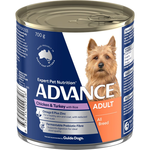 Advance Advance Adult Chicken Turkey And Rice Wet Dog Food Cans