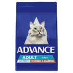 Advance Advance Adult Dry Cat Food Chicken And Salmon 3kg