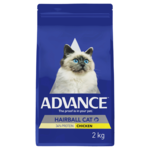 Advance Advance Adult Hairball Dry Cat Food Chicken 3kg