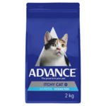 Advance Advance Adult Itchy Cat Dry Cat Food Ocean Fish