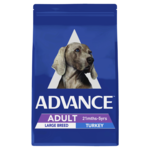 Advance Advance Adult Large Breed Dry Dog Food Turkey 15kg