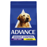 Advance Advance Adult Large Breed Weight Control Dry Dog Food Chicken 17kg