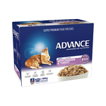 Advance Advance Adult Light Chicken And Turkey In Jelly Wet Cat Food Pouches