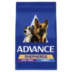 Advance Advance Adult Shepherds Large Breed Dry Dog Food Turkey 13kg