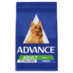 Advance Advance Adult Toy Small Breed Dry Dog Food Turkey 8kg