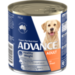Advance Advance Adult Weight Control Chicken And Rice Wet Dog Food Cans 12 x 700g