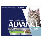 Advance Advance Kitten Lamb In Gravy Wet Cat Food Pouches