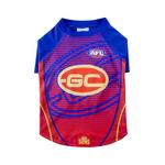 AFL Afl Dog T Shirt Gold Coast Suns
