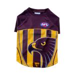 AFL Afl Dog T Shirt Hawthorn Hawks