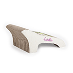 All For Paws Afp Catzilla Chaise Lounge Cardboard Scratcher