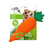 All For Paws Afp Green Rush Carrot Cat Toy