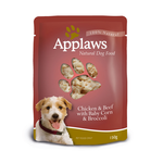 Applaws Applaws Wet Dog Food Chicken Beef Corn And Broccoli Broth 12 x 150g