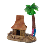 Aquatopia Aquatopia Hermit Crab House With Palm Tree