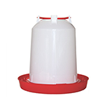 Avian Care Chicken Waterer Red White