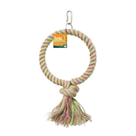 Birdie Birdie Parrot Single Jute Ring