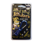 Bling Bling Blinkers Blue White