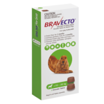 Bravecto Bravecto Medium Dog Green
