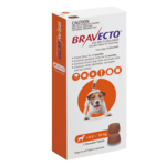 Bravecto Bravecto Small Dog Orange