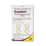 Cazitel Cazitel Flavoured Allwormer Tablets For Dogs