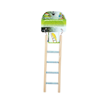Penn Plax Cement Ladder With Wood Frame