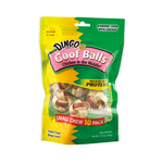 Dingo Dingo Dog Treats Rawhide Goof Balls