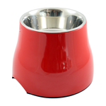 Dogit Dogit 2 In 1 Elevated Dog Dish Red