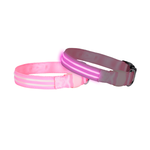 Doglite Doglite Double Trouble Led Collars Pink Sky