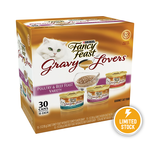 Fancy Feast Fancy Feast Gravy Lovers Poultry Beef Feast Variety Pack