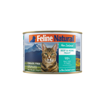 Feline Natural Feline Natural Cat Beef And Hoki Can 24 x 170g
