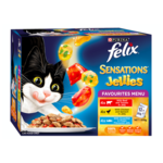 Felix Felix Wet Cat Food Sensations Jellies Favourites Menu