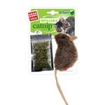 Gigwi Gigwi Refillable Catnip Mouse Natural