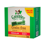 Greenies Greenies Grain Free Regular Dog Dental Treats 36 Pieces