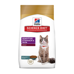 Hills Science Diet Hills Feline Sensitive Stomach And Skin 3.17kg