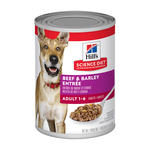 Hills Science Diet Hills Science Diet Adult Beef And Barley Entree Canned Dog Food